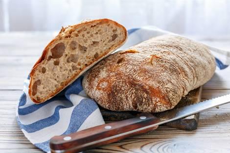 Ciabatte e bocconcini di pane